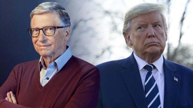Bill Gates'ten dikkat çeken Trump açıklaması!