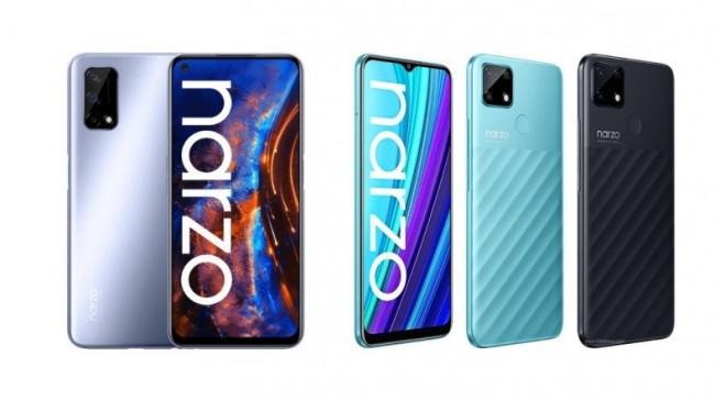 Realme Narzo 30A ve Narzo 30 Pro 5G Duyuruldu