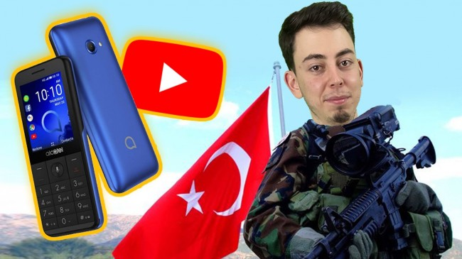 YouTube'a giren asker telefonu: Alcatel 3088 inceleme!